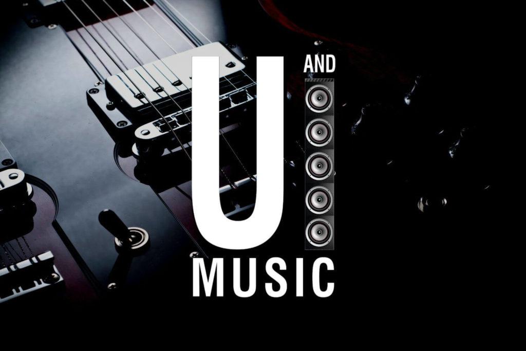 U&I music logo - slide image